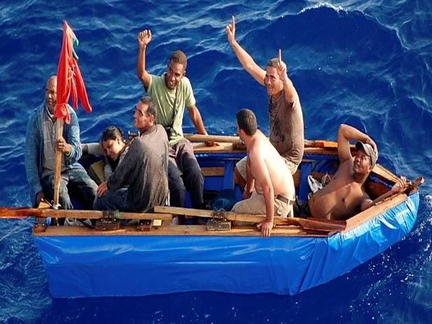 Ingen massflykt fran kuba nar visumtvang avskaffades